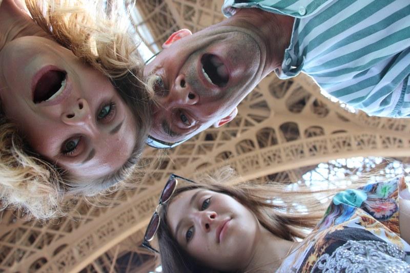 femme russe à Paris photo